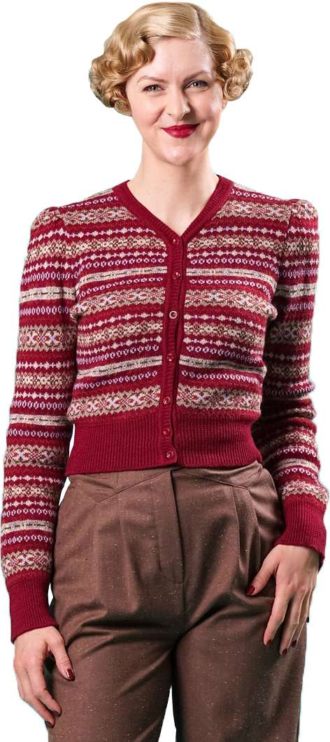 bolero strickjacke