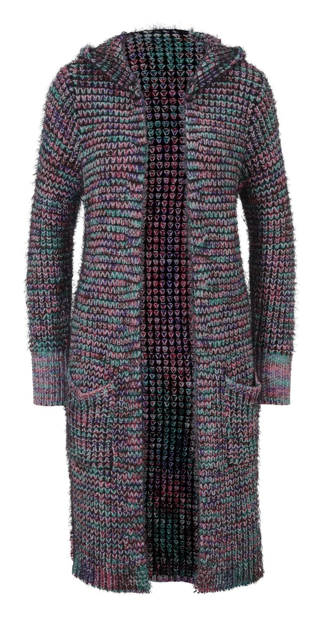 bunte strickjacke damen