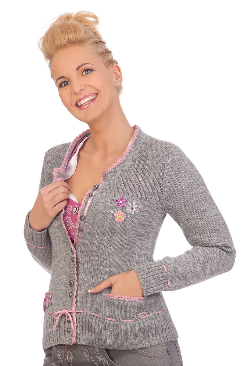 dirndl strickjacke