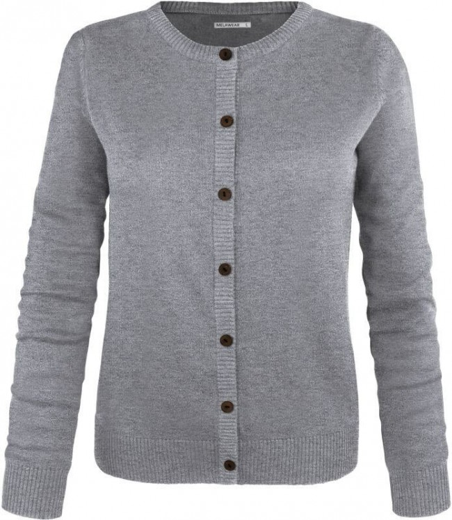 graue strickjacke damen