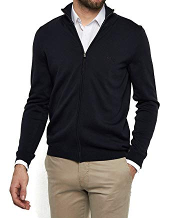 hugo boss strickjacke herren