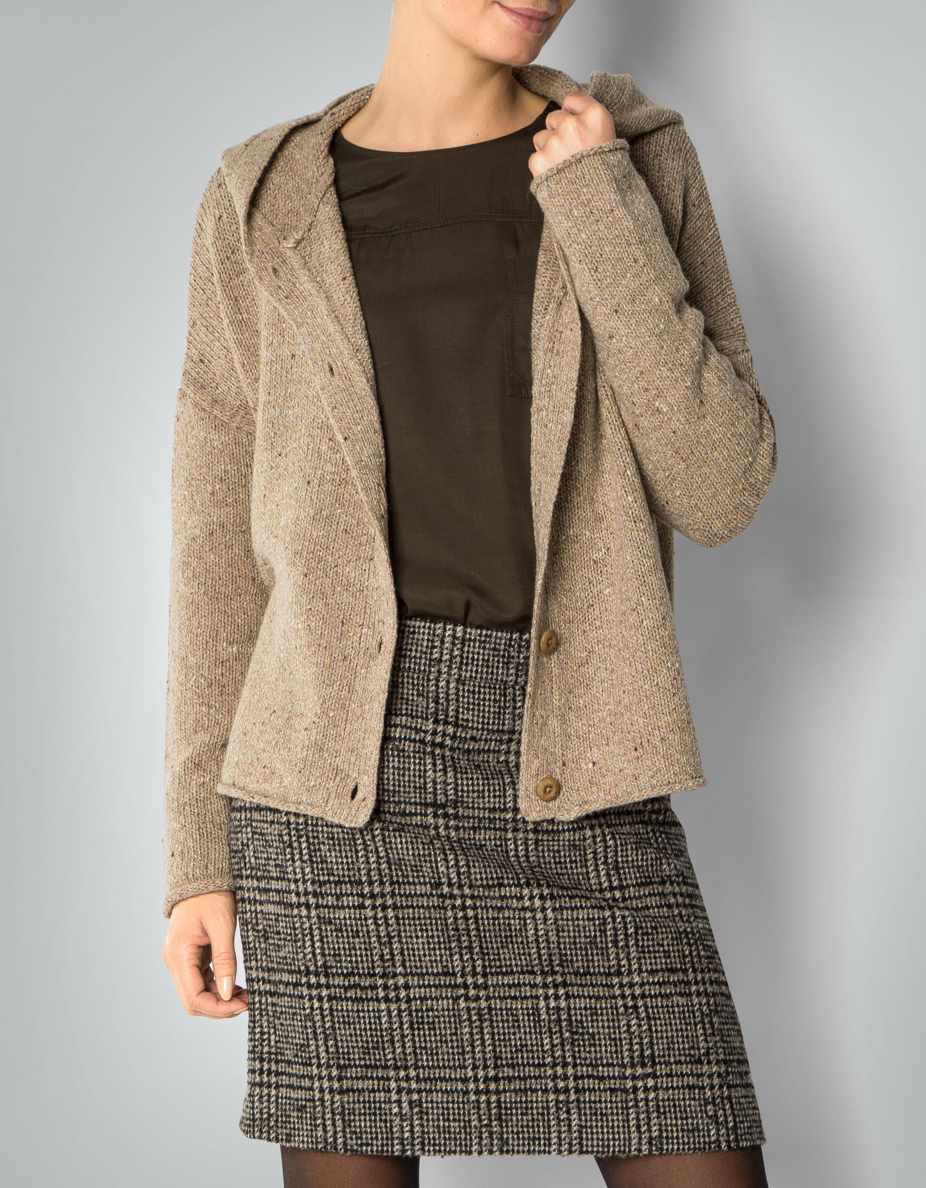 marco polo strickjacke damen