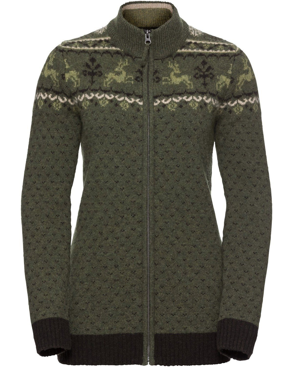norweger strickjacke damen