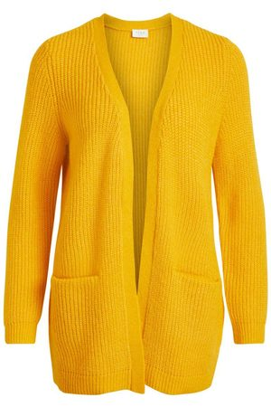 strickjacke damen gelb