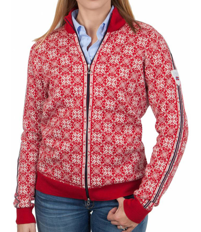 strickjacke damen rot