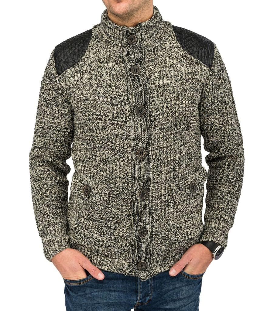 strickjacke grobstrick